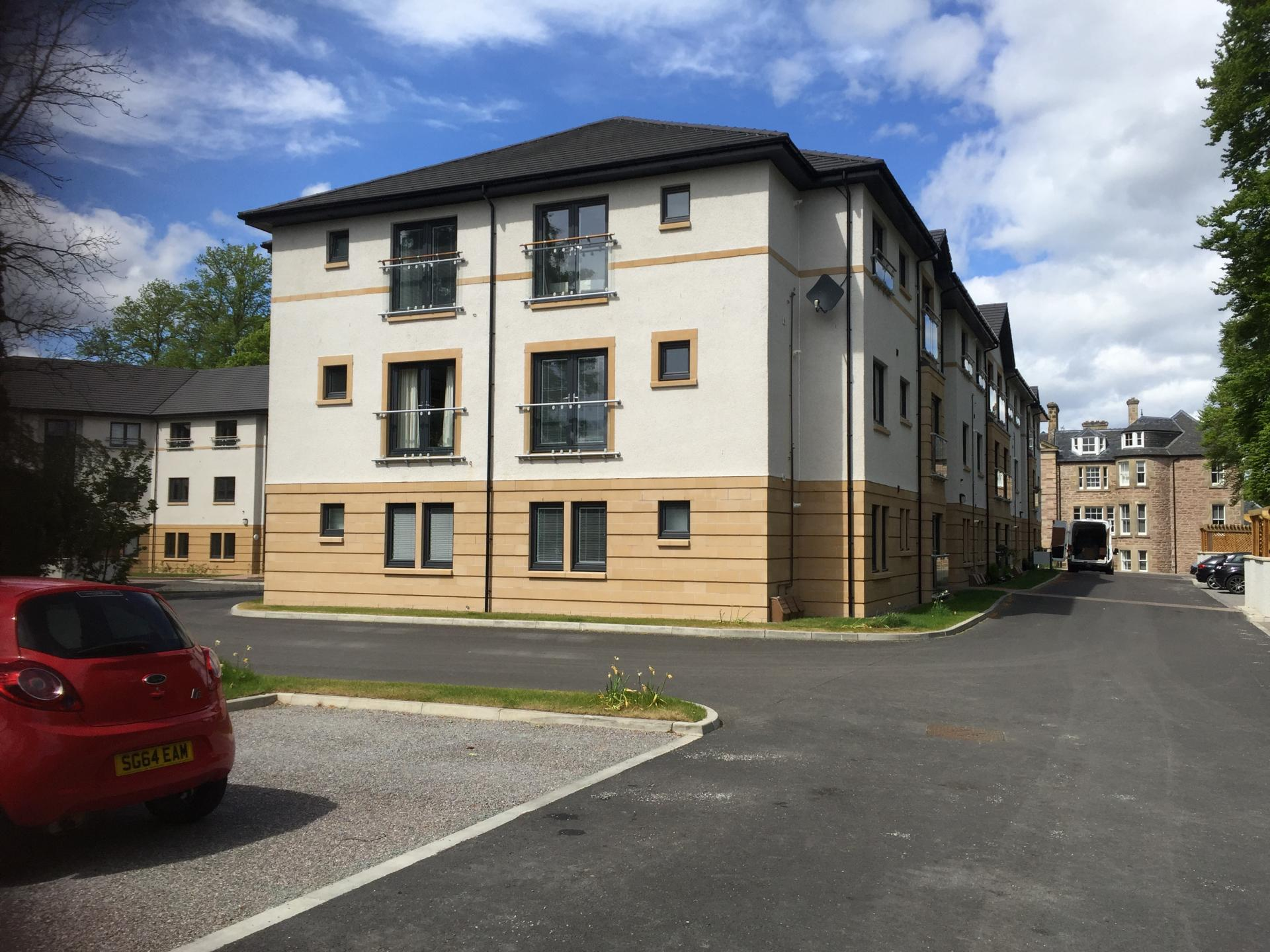 Exterior of Hedgefield Apartments, Centre, Inverness