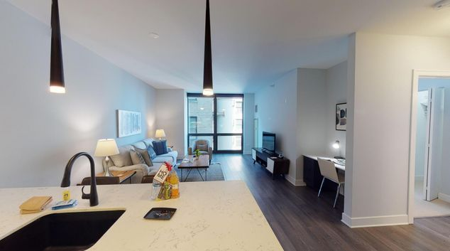Open Plan Living room at 73 East Lake Street