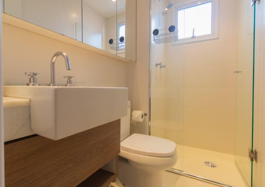 Bathroom at Corrientes Green, Brooklin, Sao Paulo