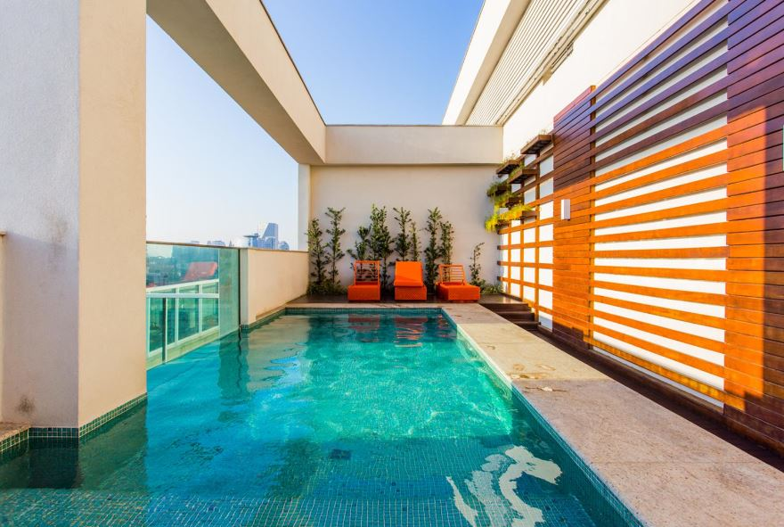 Pool at Corrientes Green, Brooklin, Sao Paulo
