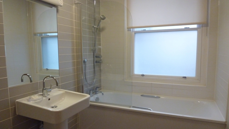 Gorgeous bathroom in South Molton Street Apartments