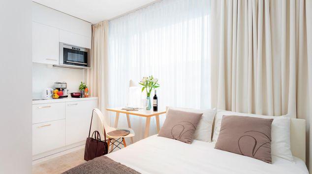 Open plan studio at Baarerstrasse 73 Apartments, Centre, Zug