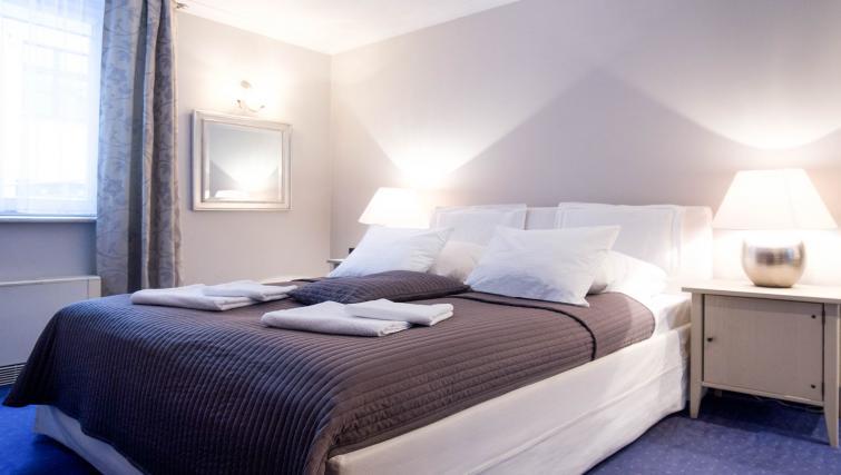 Bedroom at Davos Apartments