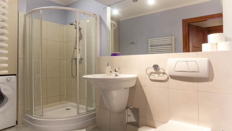 Bathroom at Davos Apartments
