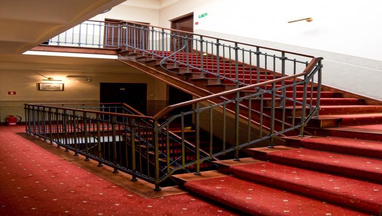 Stairs at Davos Apartments