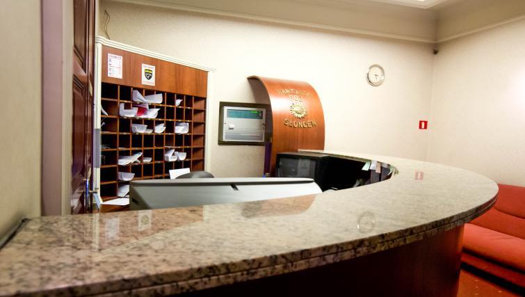 Reception at Davos Apartments