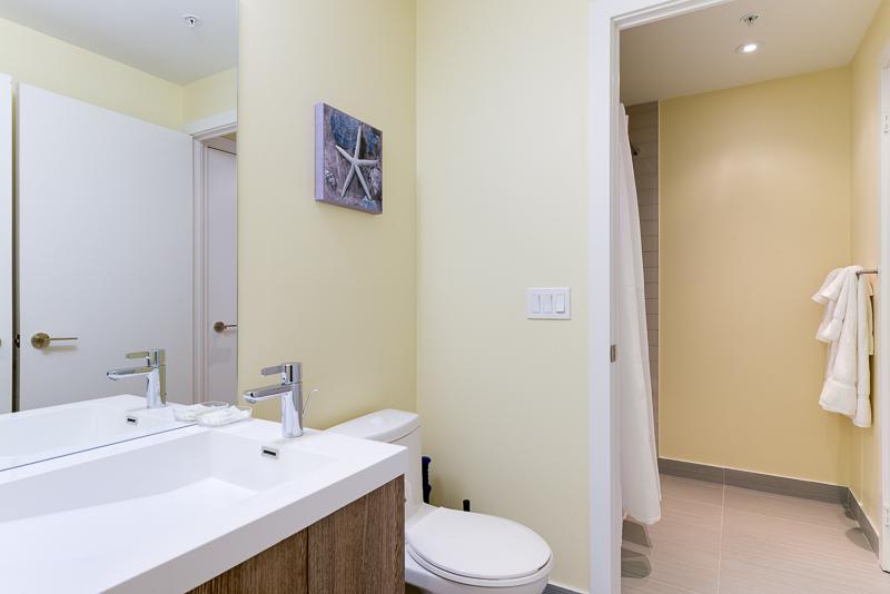 Bathroom at Nelson Street Apartments, Old Toronto, Toronto