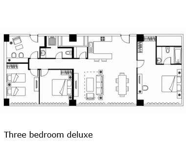 Floorplan 3 at Somerset Heping Apartments