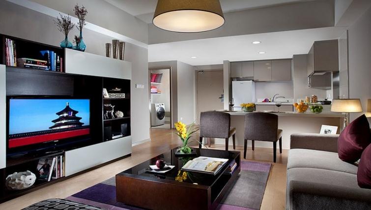 Premium kitchen in Somerset Heping Apartments