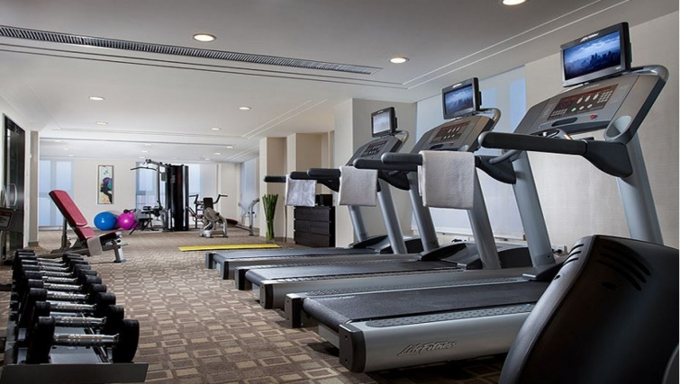 Extensive gym in Somerset Heping Apartments