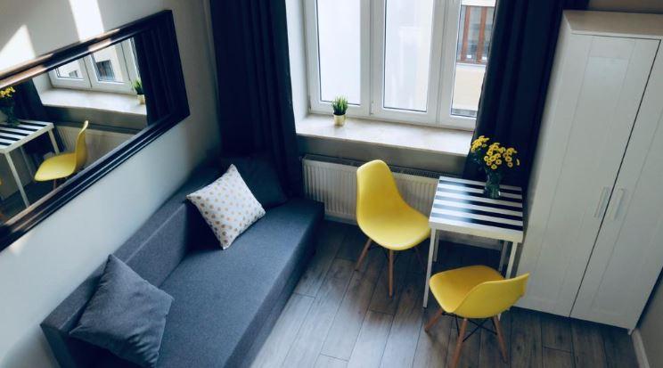 Living area at Mielczarskiego Apartments, Śródmieście, Lodz