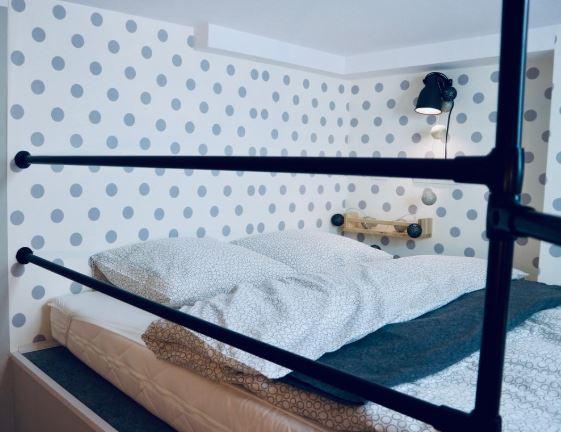 Bedroom at Mielczarskiego Apartments, Śródmieście, Lodz
