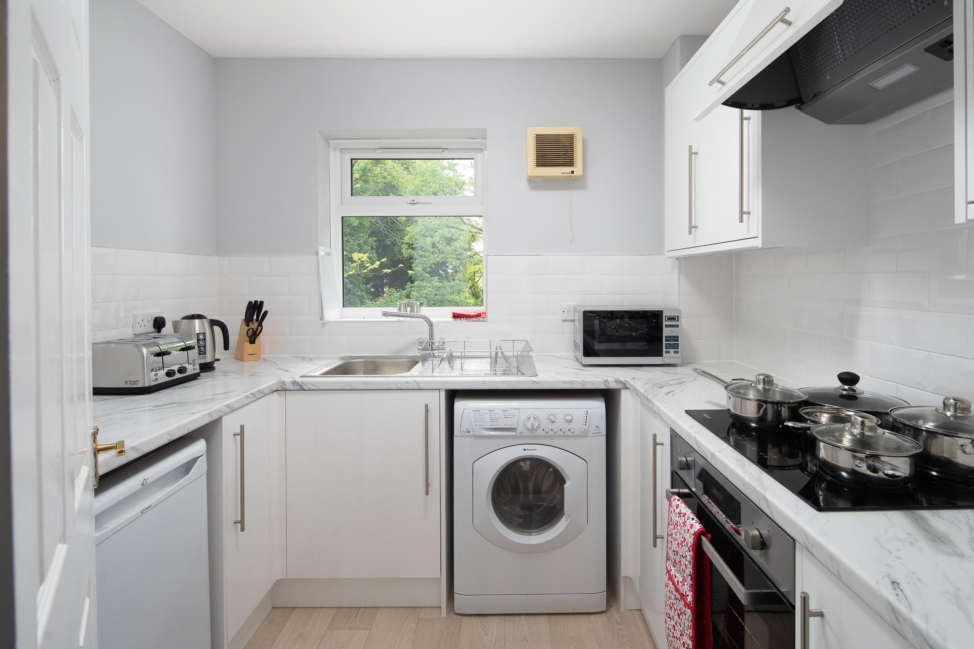 Kitchen at Crawley Centre Apartment, Southgate, Crawley