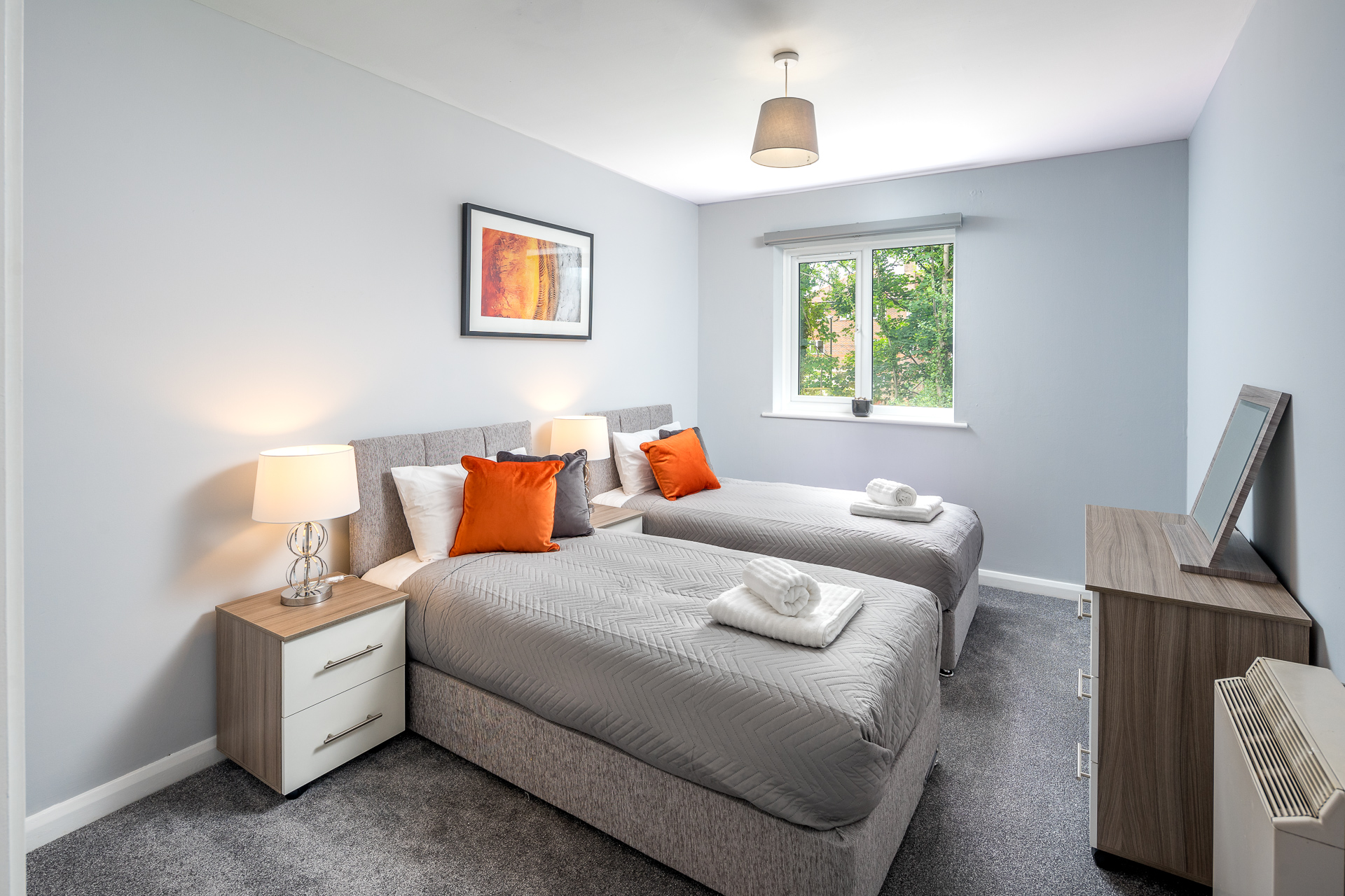 Bedroom at Crawley Centre Apartment, Southgate, Crawley