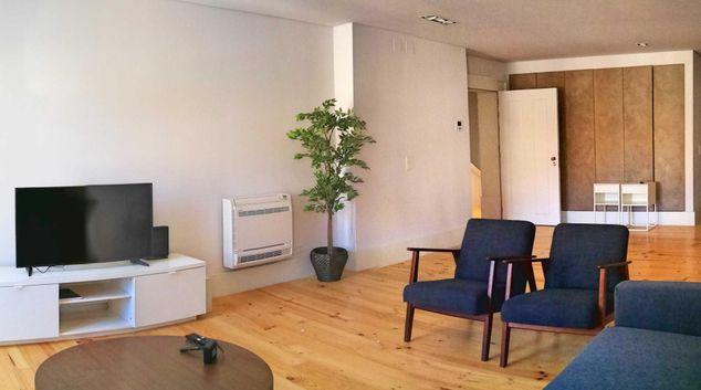 Living area at 145 Castle View Apartments, Bairro Alto, Lisbon