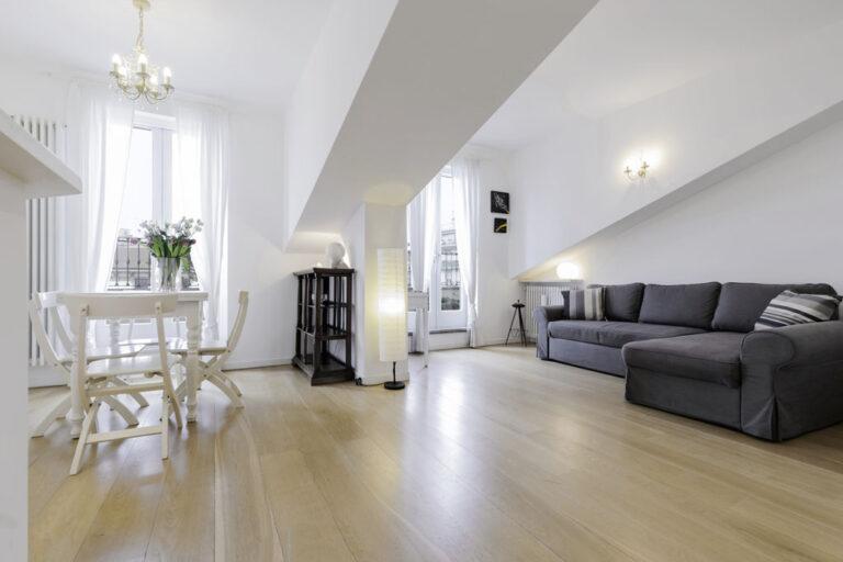 Living area at Jasmine Attic, Centre, Milan