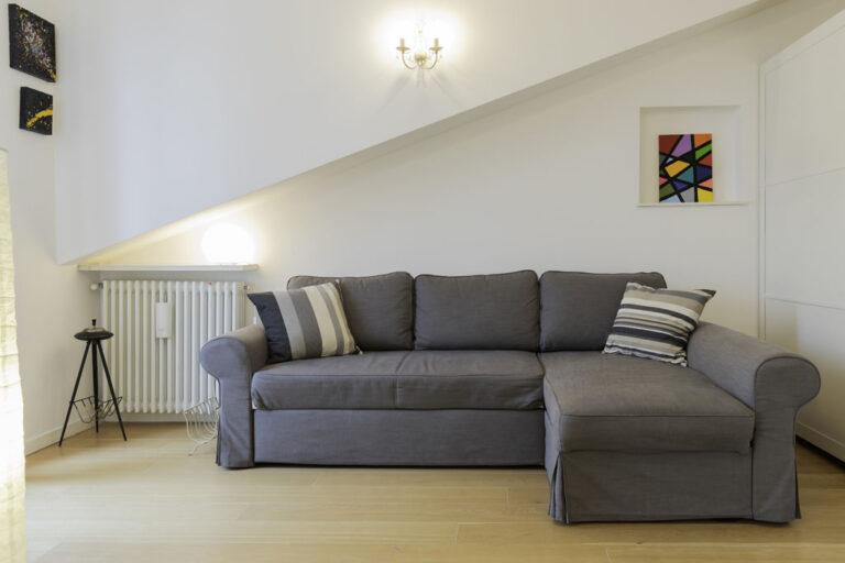 Sofa at Jasmine Attic, Centre, Milan