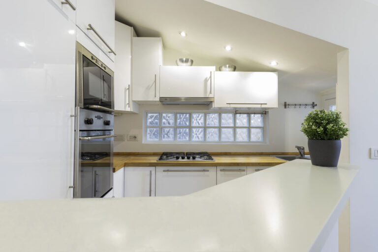 Modern kitchen at Jasmine Attic, Centre, Milan