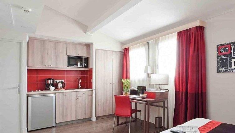 Gorgeous kitchen in Adagio Aix en Provence Centre