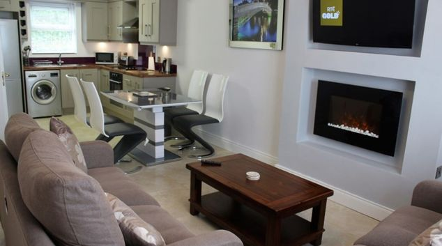 Living area at Burnside Letterkenny Apartment, Fortwell, Letterkenny