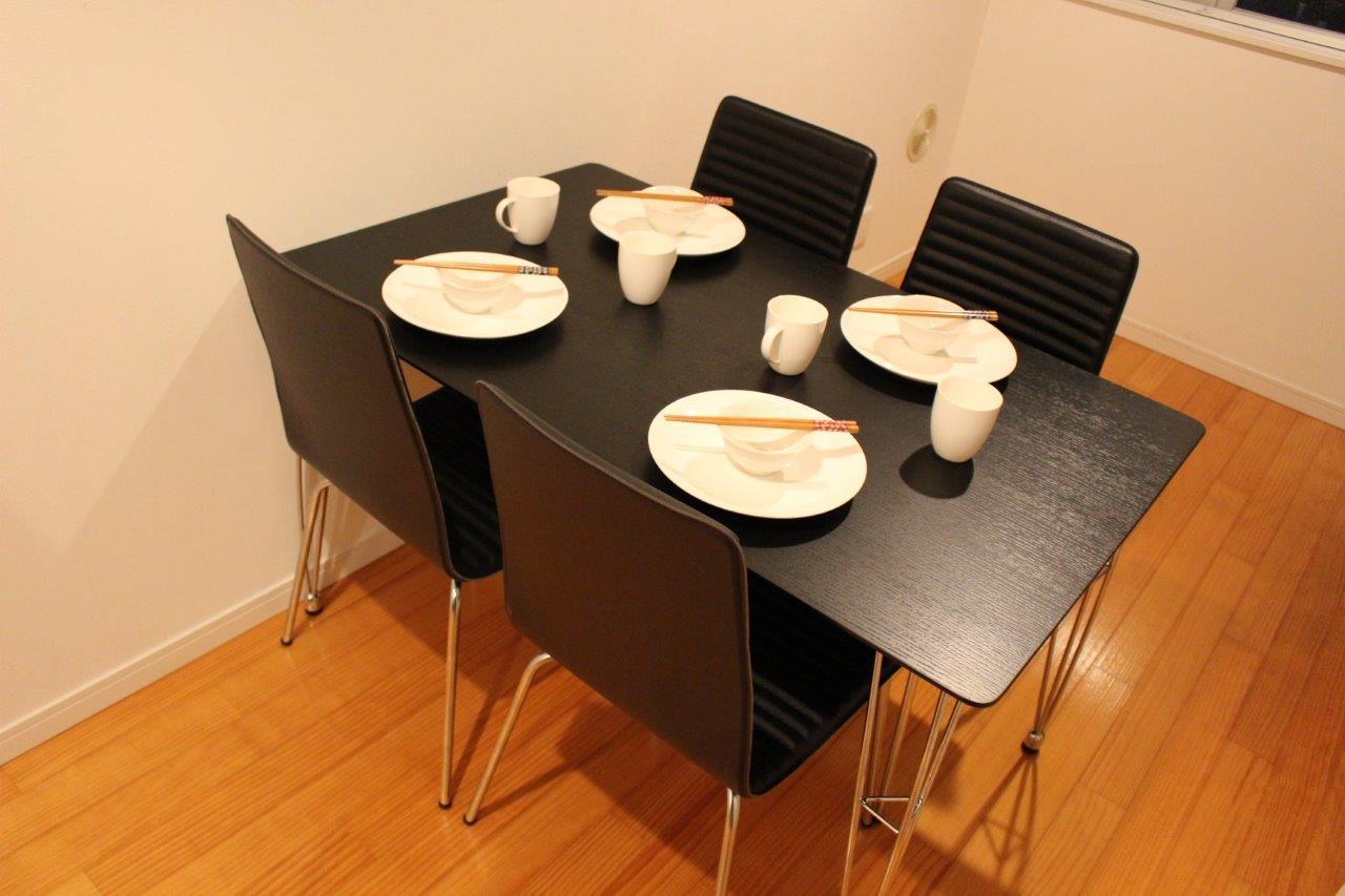 Table at Melodia Harajuku Apartments, Shibuya City, Tokyo