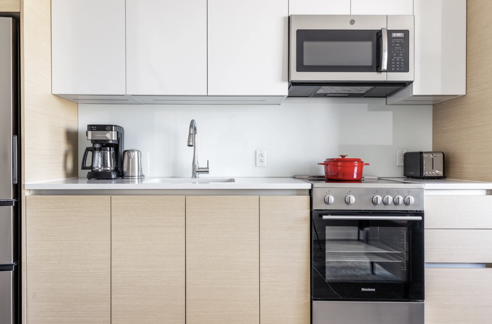 Kitchen at Hub50House Apartments, Centre, Boston