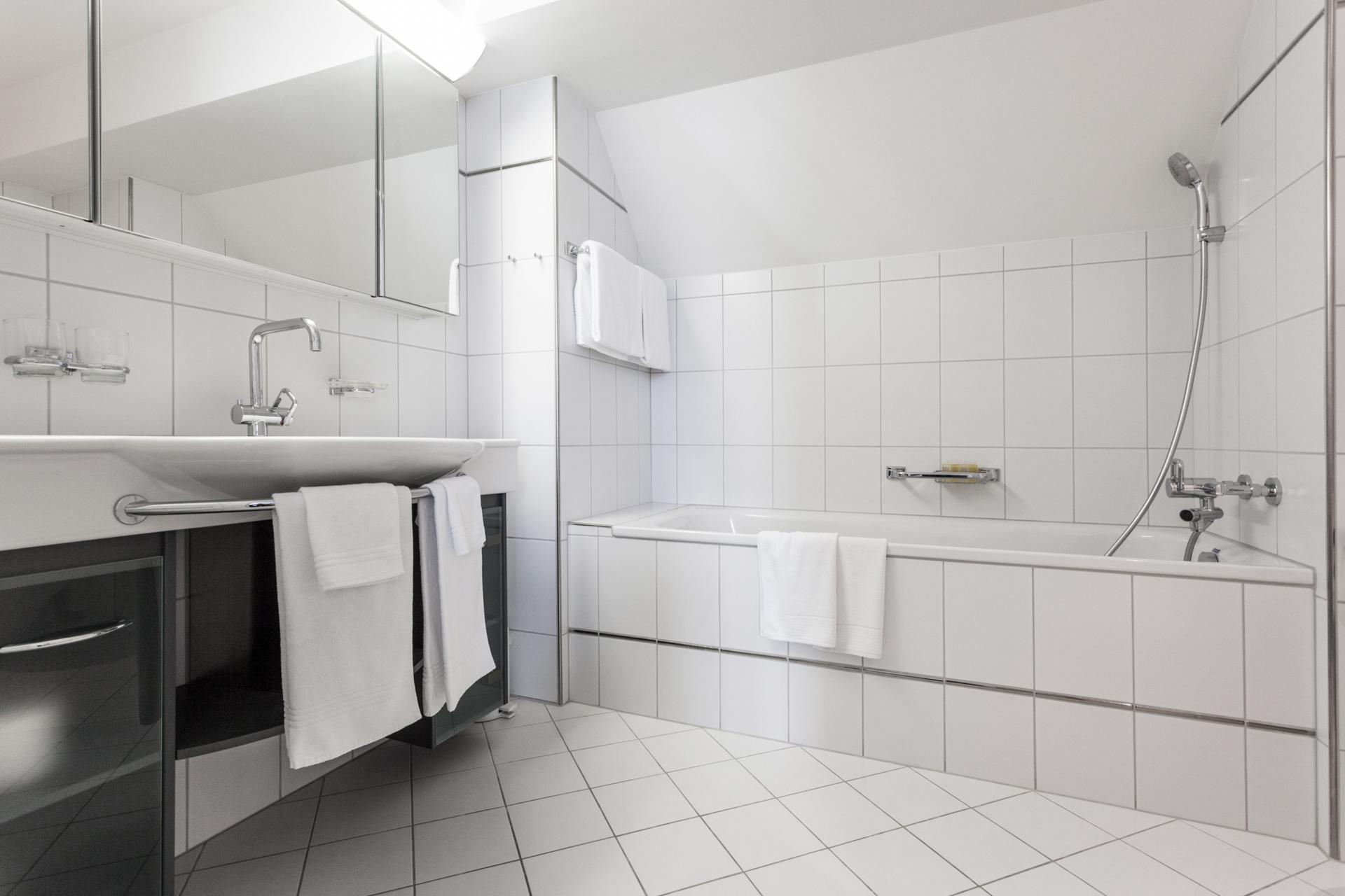 Bathroom at Florastrasse 26 Apartments