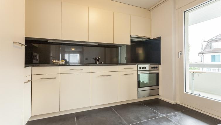 Modern kitchen in Sihlfeldstrasse 127
