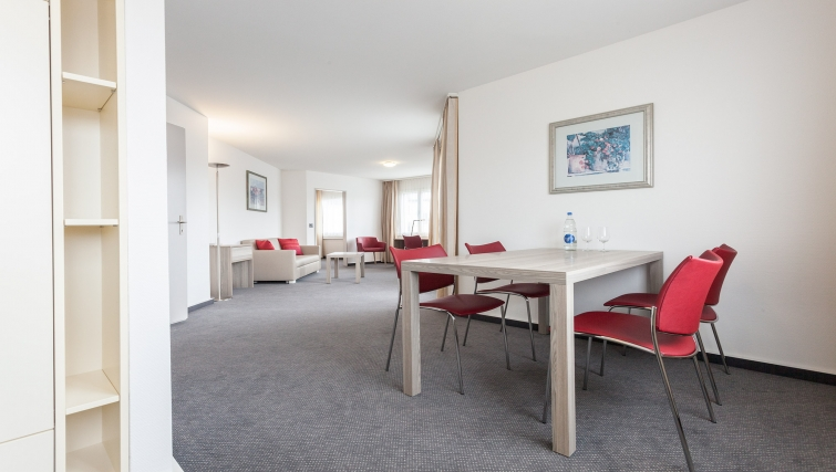 Living area in Sihlfeldstrasse 127