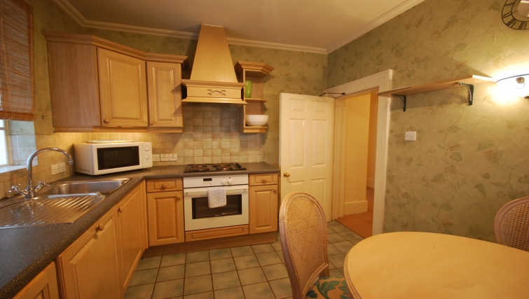 Outstanding kitchen at the The Leonard Apartments