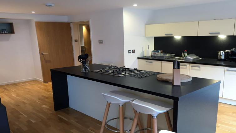 Gorgeous kitchen in Tolbooth Apartments