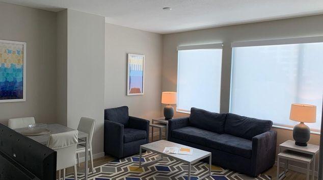 Living Room at Modera Central