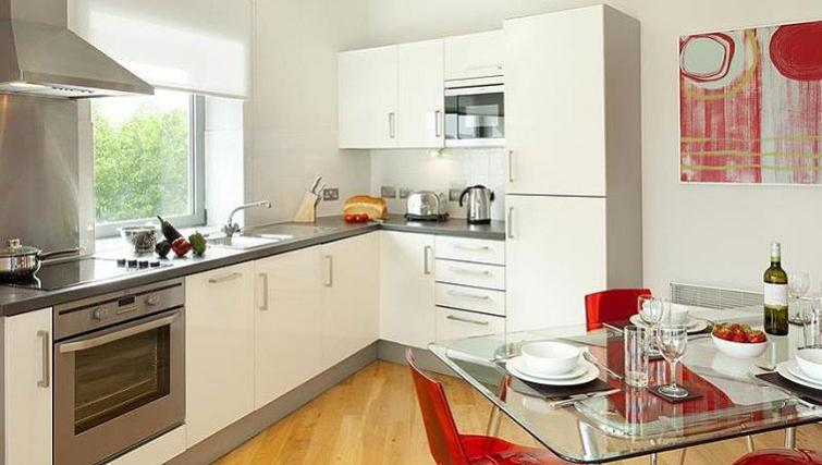 Sophisticated kitchen in SACO Bristol - Broad Quay