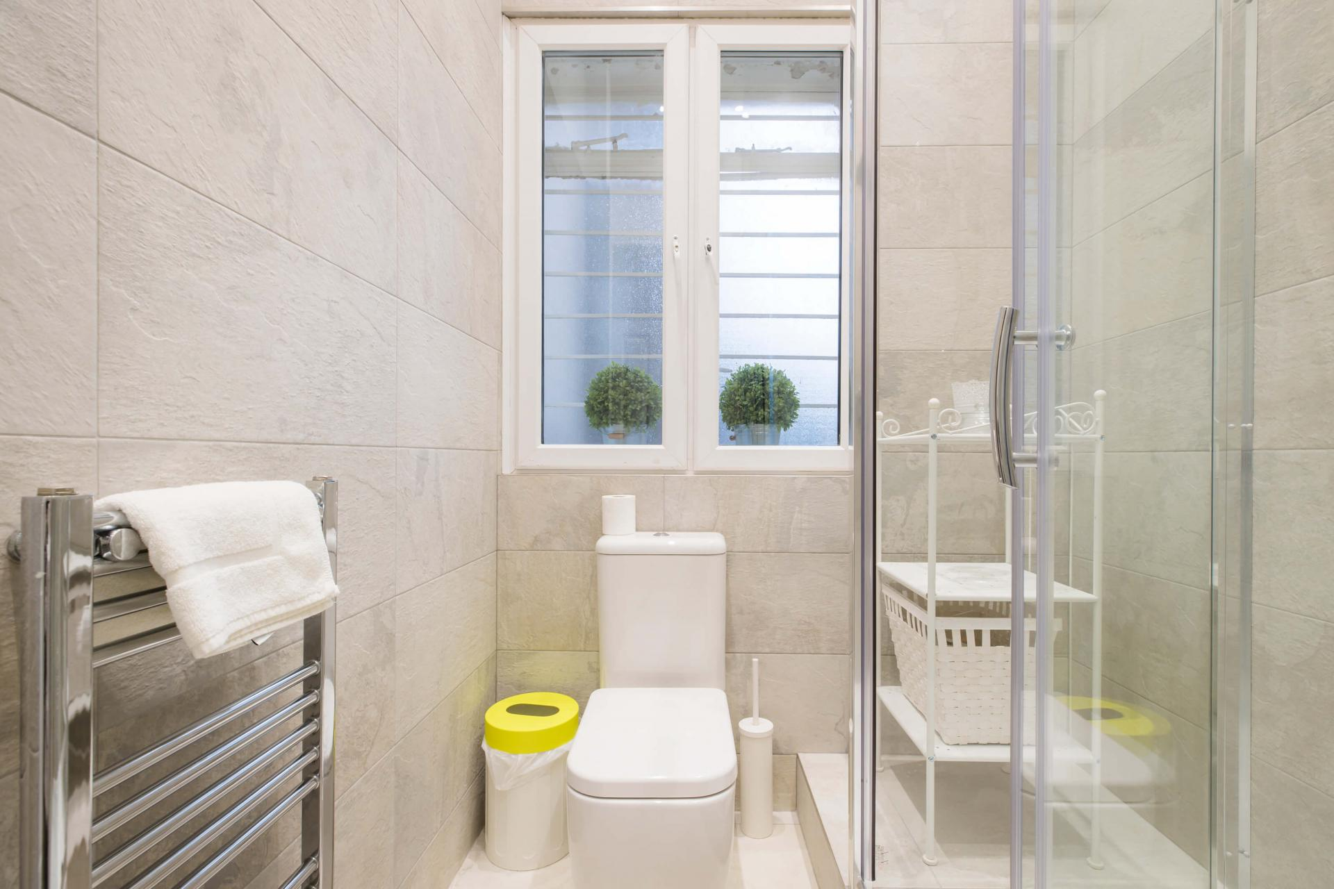 Bathroom at Westbourne Gardens Apartment, Bayswater, London