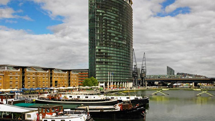 Outside of Marriott Executive Apartments Canary Wharf