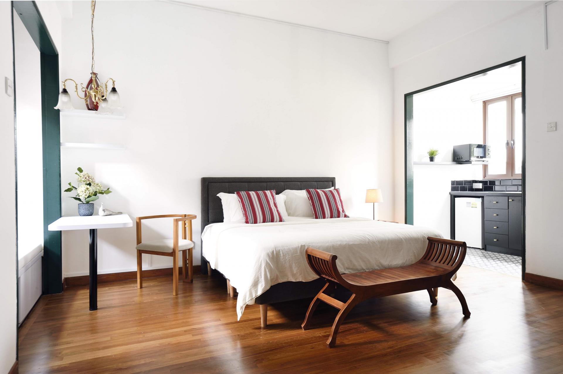 Bedroom at Cavenagh House Apartments, Kallang, Singapore