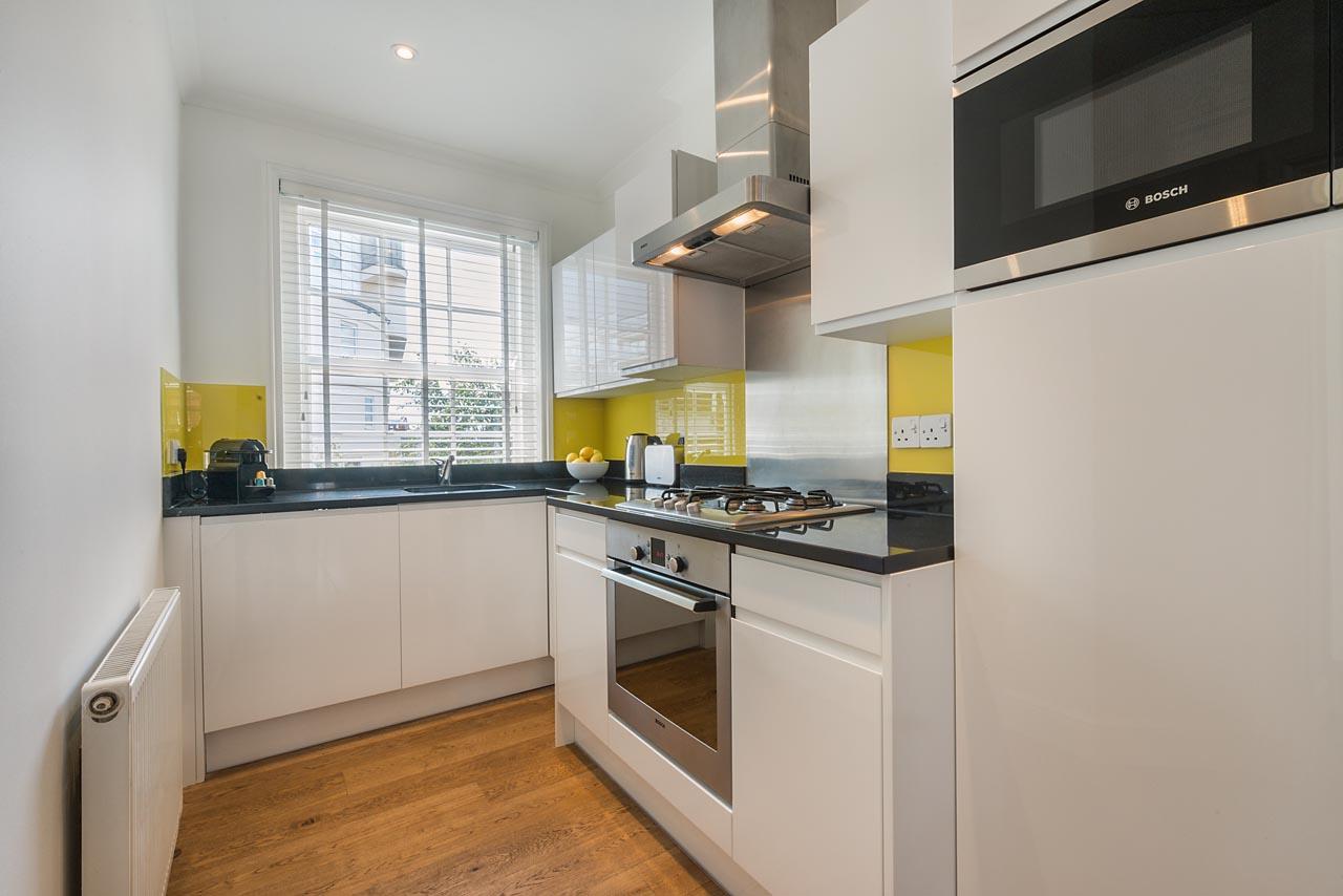 Kitchen at Chelsea- Sloane Avenue Apartments, Chelsea, London