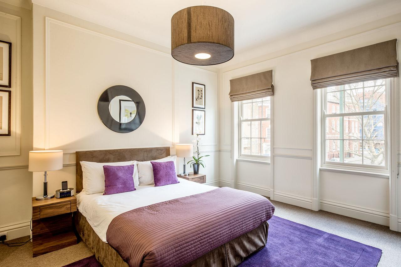 Bedroom at Chelsea- Sloane Avenue Apartments, Chelsea, London