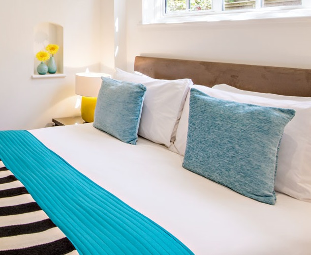 Bed at Chelsea - West House Apartment, Chelsea, London