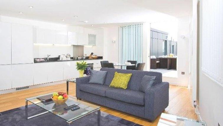 Stunning living area at Oakwood Farringdon