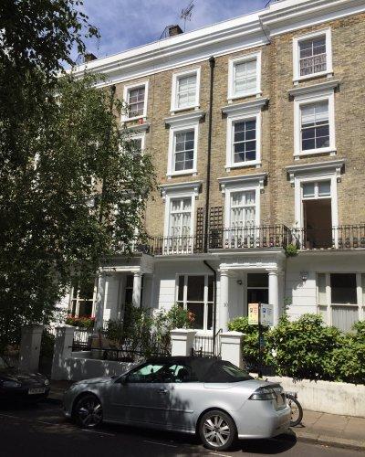 Exterior at 10 Durham Terrace, Bayswater, London