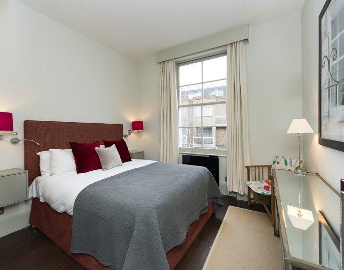 Bedroom at 10 Durham Terrace, Bayswater, London
