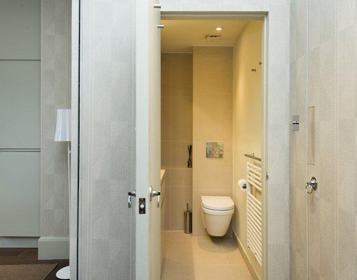 Toilet at 10 Durham Terrace, Bayswater, London