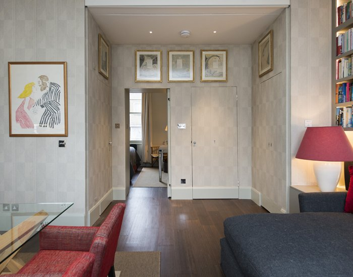 Hallway at 10 Durham Terrace, Bayswater, London