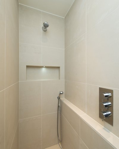 Shower at 10 Durham Terrace, Bayswater, London