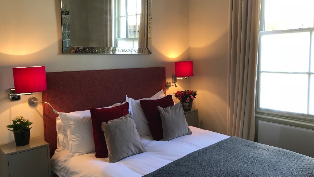 Pillows at 10 Durham Terrace, Bayswater, London