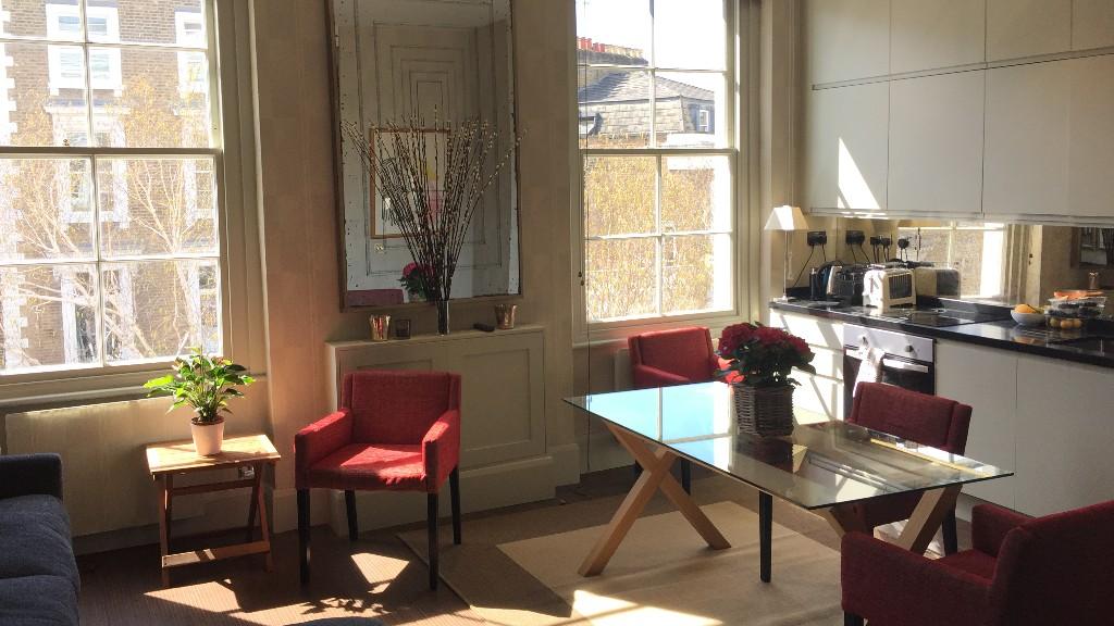 Chair at 10 Durham Terrace, Bayswater, London
