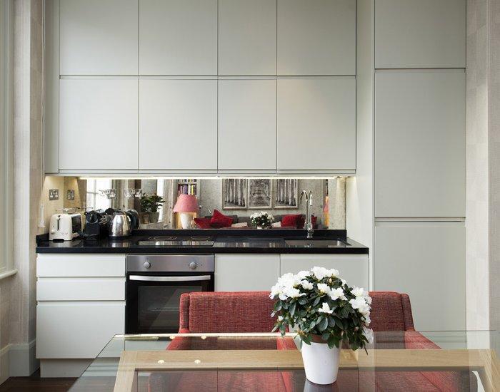 Kitchen at 10 Durham Terrace, Bayswater, London
