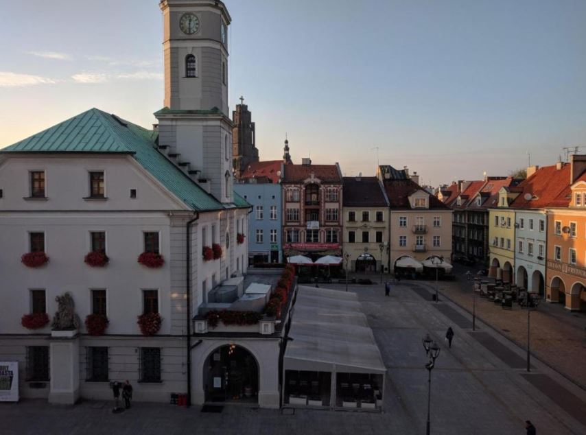 View from Rynek Apartment, Centre, Gliwice