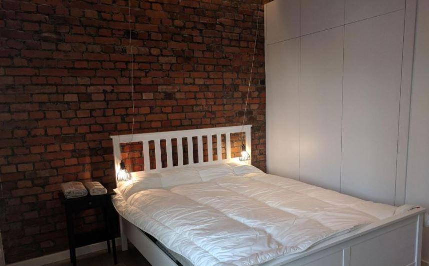 Bedroom at Rynek Apartment, Centre, Gliwice